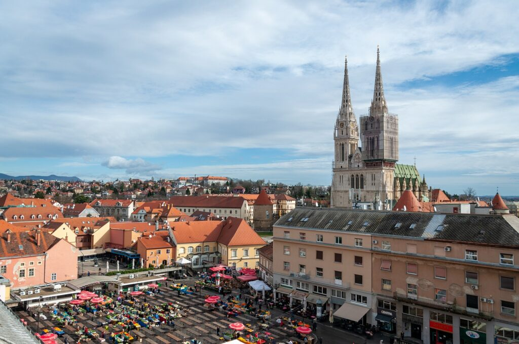 Zagreb, the capital of Croatia